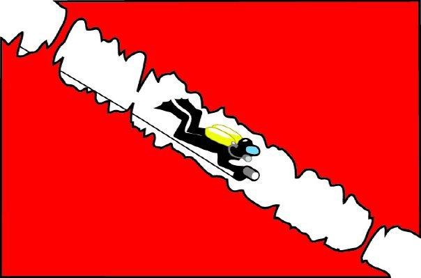 Tulum Underwater Flag